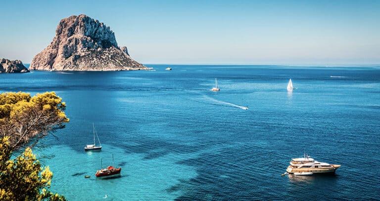 Sailing Ibiza