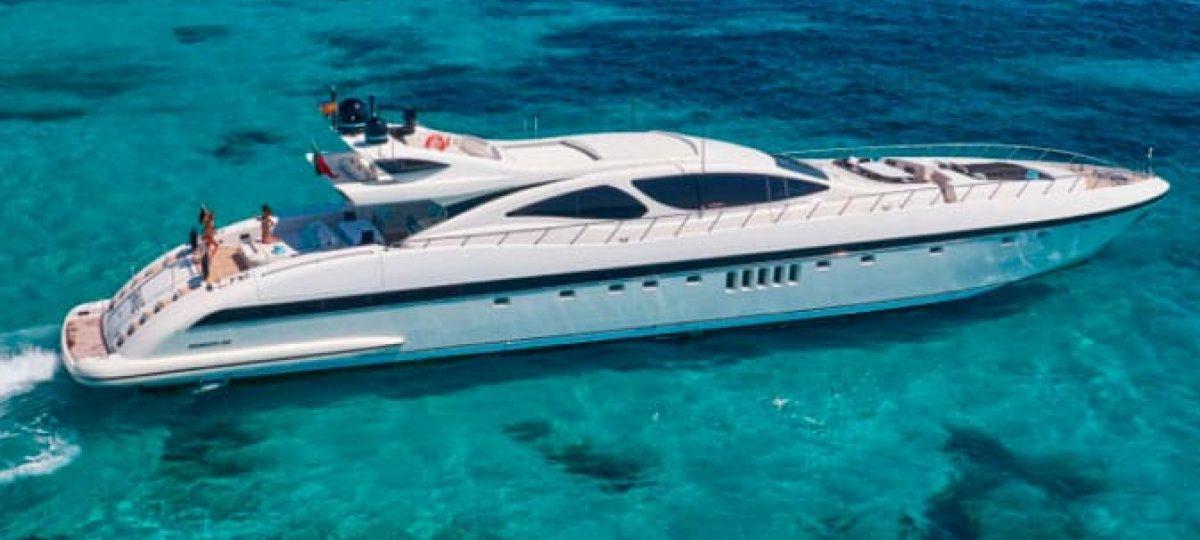 130 FT Mangusta Mega Yacht